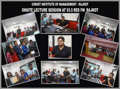 OnSite Lecture Session at 93.5 Red FM-Rajkot